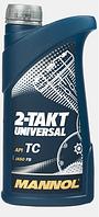 Двухтактное масло Mannol 2-Takt Universal 1L