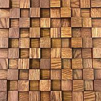 """Декоративная деревянная панель """"CUBE"""""""