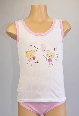Комплект для дівчинки \майка та трусики\, фото 2