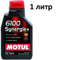 Масло моторное 10W-40 (1л.) MOTUL 6100 Synergie+  , фото 1