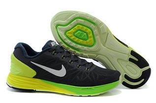 Кроссовки мужские Nike Lunarglide 6  / LRM-028 (Реплика)