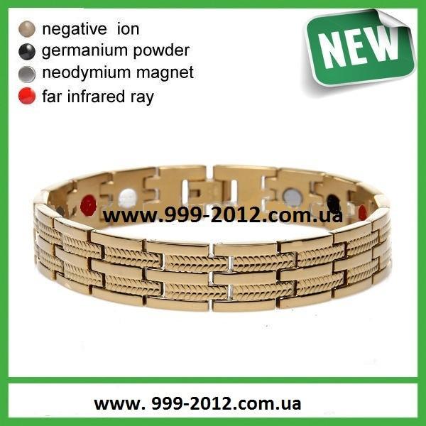 Магнитные браслеты PentActiv  gold - украшения для здоровья