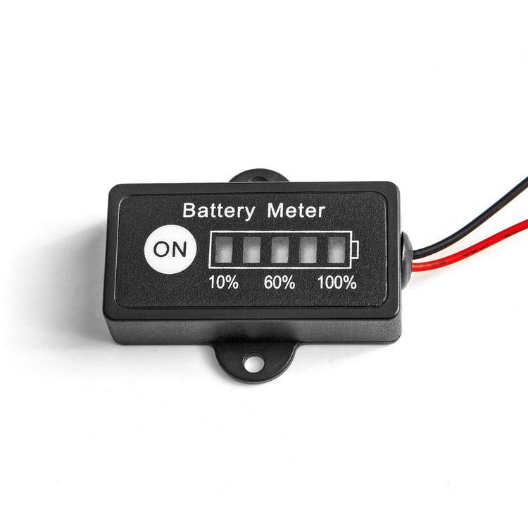Индикатор заряда аккумуляторной батареи Li-Fe 12v MastAK BG1-F4(4s)