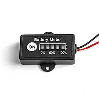 Индикатор заряда аккумуляторной батареи Li-Fe 12v MastAK BG1-F4(4s), фото 1