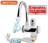Проточный водонагреватель, кран, качественный, с дисплеем, мощный, надёжный, Оригинал, универсальный