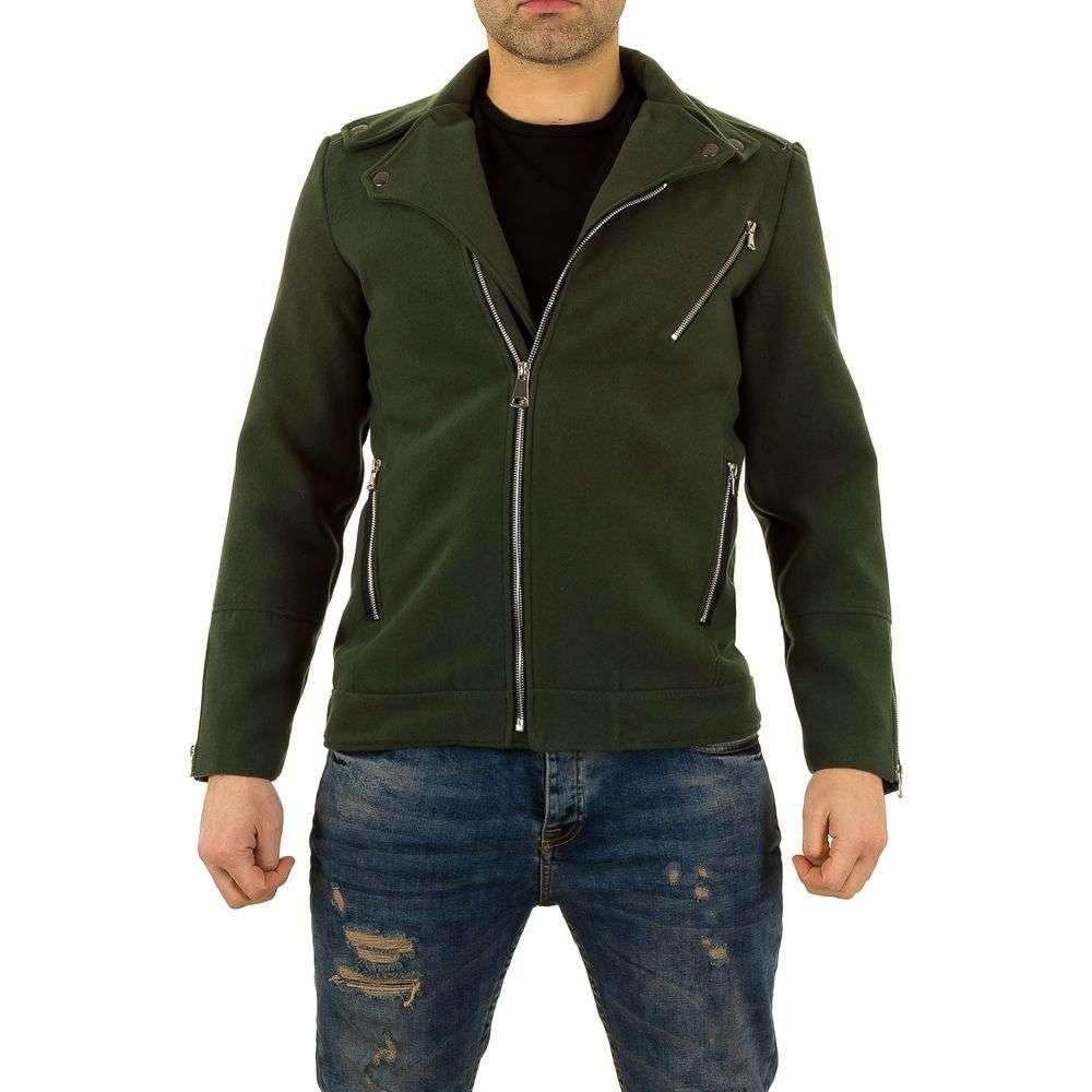 Пальто мужское короткое Uniplay (Европа), Зеленый