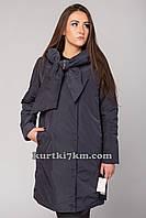 Женский плащ  пальто с бантом Snow beauty 9093, фото 1