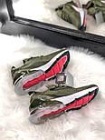 Жіночі кросівки Air Max 270 Khaki. Живе фото, фото 3