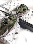 Жіночі кросівки Air Max 270 Khaki. Живе фото, фото 4
