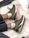 Жіночі кросівки Air Max 270 Khaki. Живе фото, фото 6