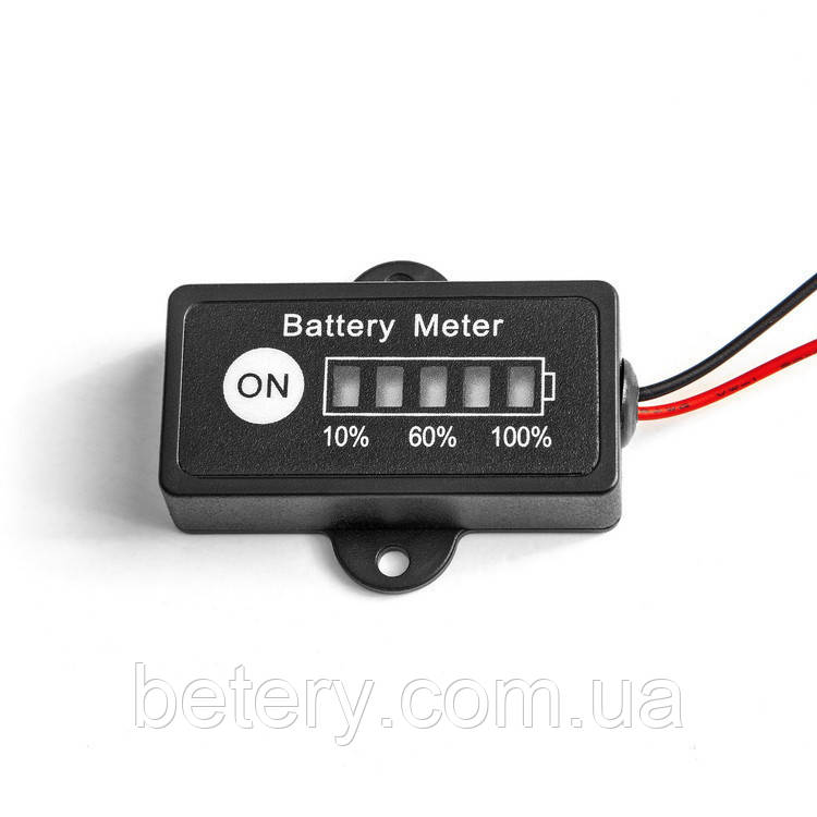 Индикатор заряда аккумуляторной батареи SLA(GEL) 12v MastAK BG1-A12