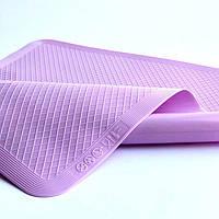 Силиконовый коврик для выпечки, антипригарный 37*27 (розовый)