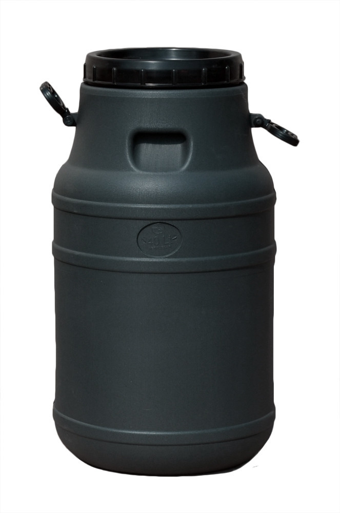 Бидон непищевой 40 л Черный