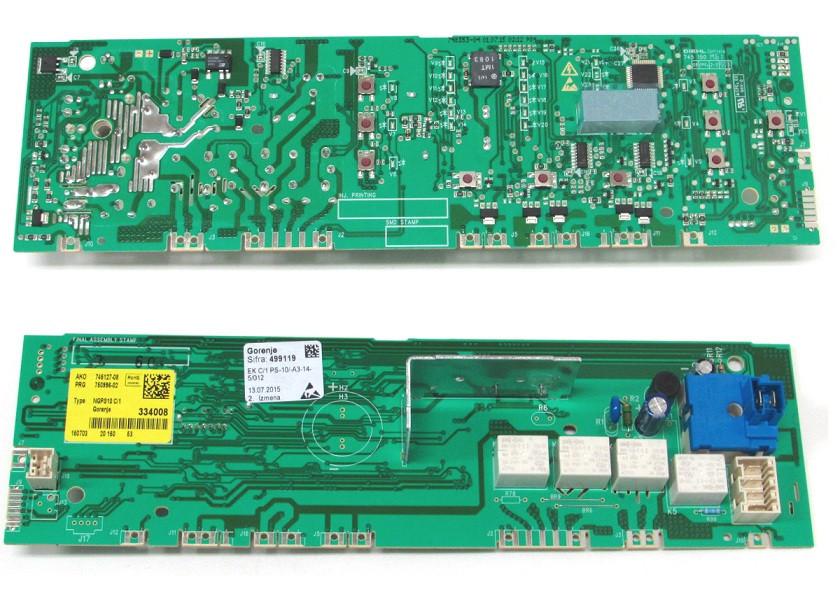 Модуль управления для стиральной машины Gorenje (334008) 499119
