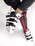 Мужские кроссовки Air Uptempo White Supreme. Живое фото (Реплика ААА+), фото 2