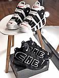 Мужские кроссовки Air Uptempo White Supreme. Живое фото (Реплика ААА+), фото 7