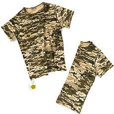 Детский камуфляж комплект футболка кепка СкаутПиксель, фото 3