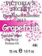 Парфюмерное масло версия аромата (446) Bombshell Summer 2017 Victoria`s Secret - 15 мл композит в роллоне