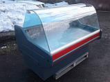 Холодильная витрина Cold 1.55 м. б/у, холодильный прилавок б у, гастрономическая витрина холодильная бу, фото 2