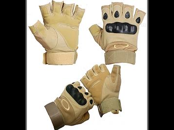Тактические перчатки Oakley беспалые