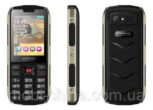 Телефон Servo H8 - 4 sim green, фото 2
