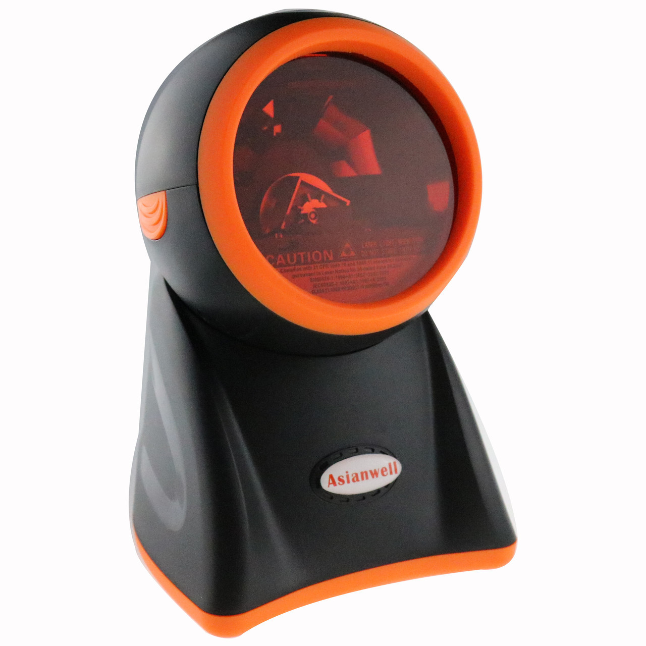 5-ти площинний лазерний сканер штрих-коду провідний AsianWell AW-1080 чорний (AW-1080)