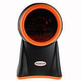 5-ти площинний лазерний сканер штрих-коду провідний AsianWell AW-1080 чорний (AW-1080), фото 3