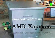 Контейнер для мусора, бак для ТБО 0,75 м.куб. 250 кг металл 1,2 мм сталь