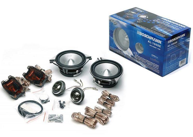 Автомобильная акустика компонентная Boschmann AL-100 SEZ  колонки динамики в машину бошман 100 мм 140 Вт