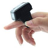 Лазерный портативный сканер штрих-кода беспроводный AsianWell AW-1001R  Bluetooth чёрный (AW-1001R), фото 4