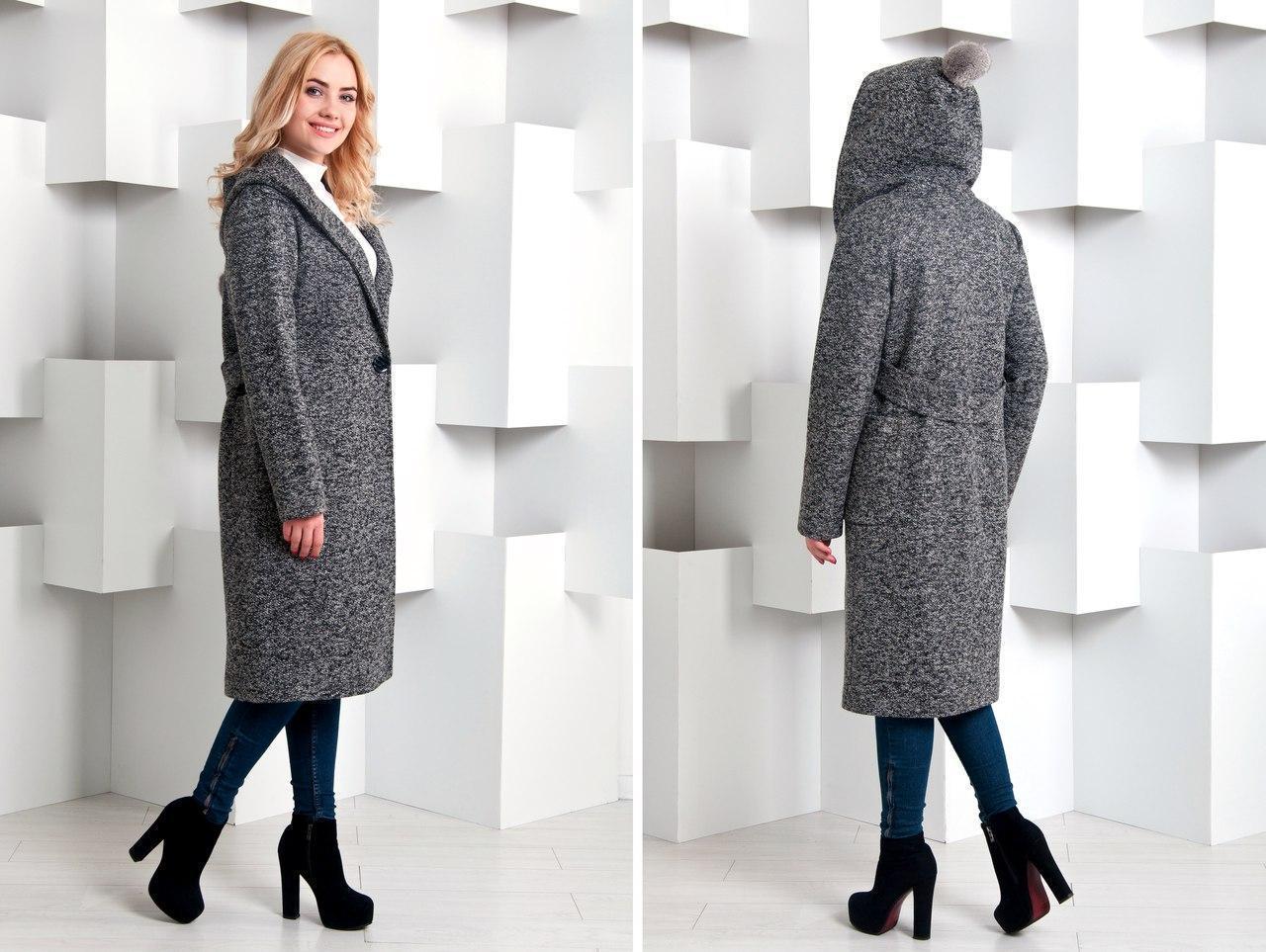 e0a4a26d07f Купить Удлиненное женское демисезонное пальто оверсайз v4507 ...