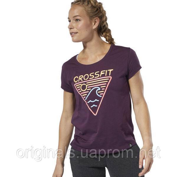 Спортивная женская футболка Reebok CrossFit® Neon Retro Easy DU4596