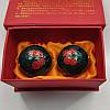 """Китайские шарики """"Сакура"""" зеленые в коробке (С0085)"""
