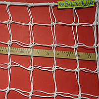 Сетка футбольная повышенной прочности «ЭЛИТ 2,1» белая (комплект из 2 шт.), фото 1