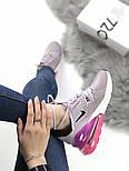 Женские кроссовки Air Max 270 Violet purple. Живое фото, фото 6
