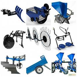 Навісне обладнання до мотоблоків, мототракторам ,тракторів.