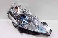 Фара передняя галоген левая АМЕРИКА голубой колпачок VALEO SYLVANIA Nissan Leaf ZE0 / AZE0 (10-17) 26060-3NF0A