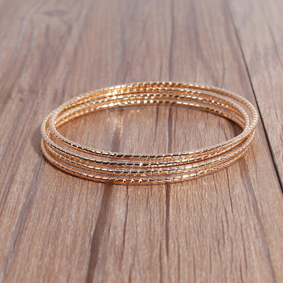 Браслет-кольцо заготовка 22см золото для рукоделия
