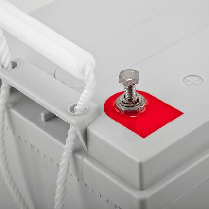 Гелевый аккумулятор для лодочного мотора, 100Ач., фото 2