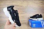 Кроссовки Adidas Falcon, черные, фото 3