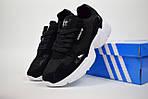 Кроссовки Adidas Falcon, черные, фото 2