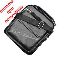 Мужская чоловіча кожаная натуральная сумка барсетка DIWEILU , фото 1