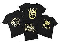 """Семейные футболки """"Король и Королева"""""""