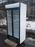 Холодильный шкаф Интер Т-600 б у, Холодильный шкаф б/у, холодильная камера б/у, холодильная витрина б у, шкаф, фото 2