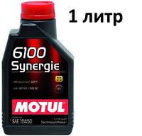 Масло моторное 15W-50 (1л.) MOTUL 6100 Synergie  , фото 1