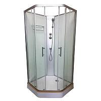 Душевая кабина 90х90 Veronis BN-1, прозрачное стекло