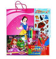 Набор подарочный для девочки (пакет Белоснежка)