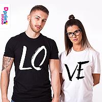 """Семейные футболки """"Любовь"""""""