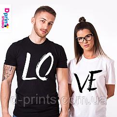 """Сімейні футболки """"Любов"""""""