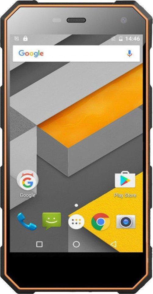 Смартфон Sigma Mobile Х-treme PQ24 Black-Orange Гарантия 12 месяцев